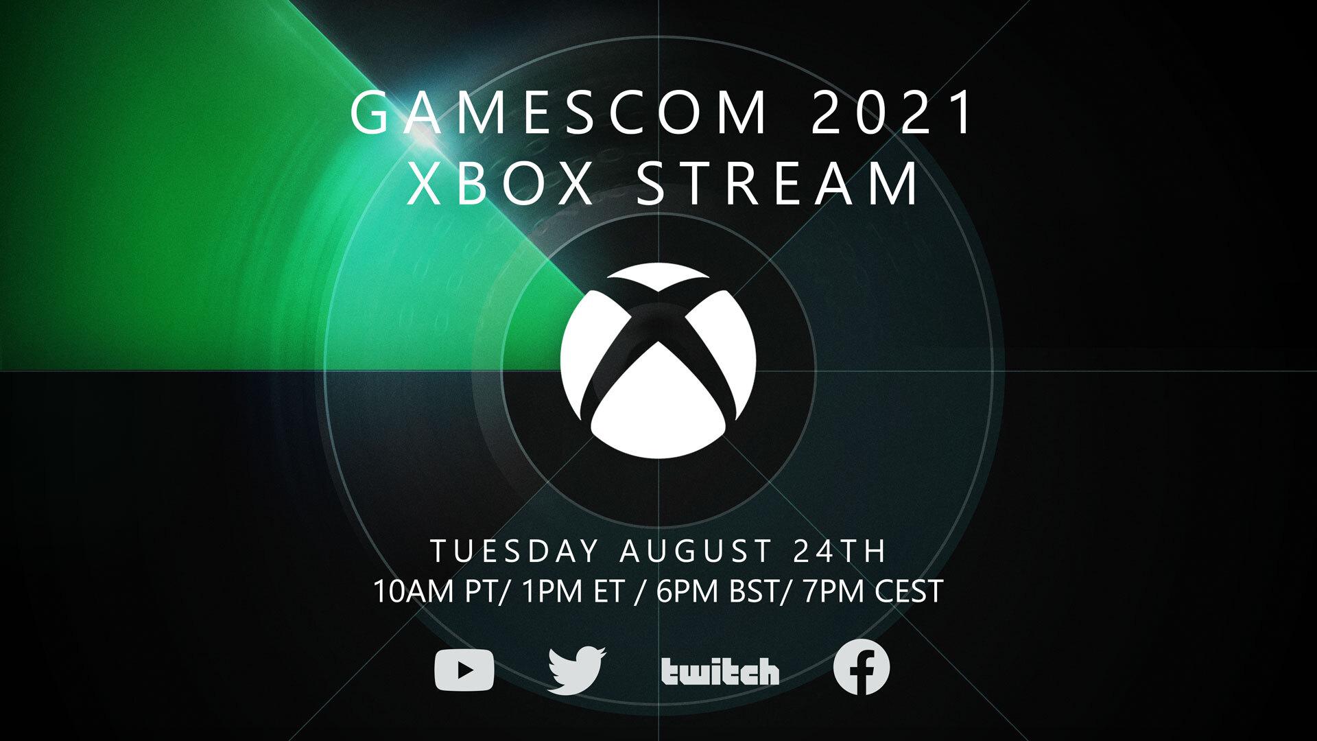 gamescom 2021 Xbox Stream - Gamescom