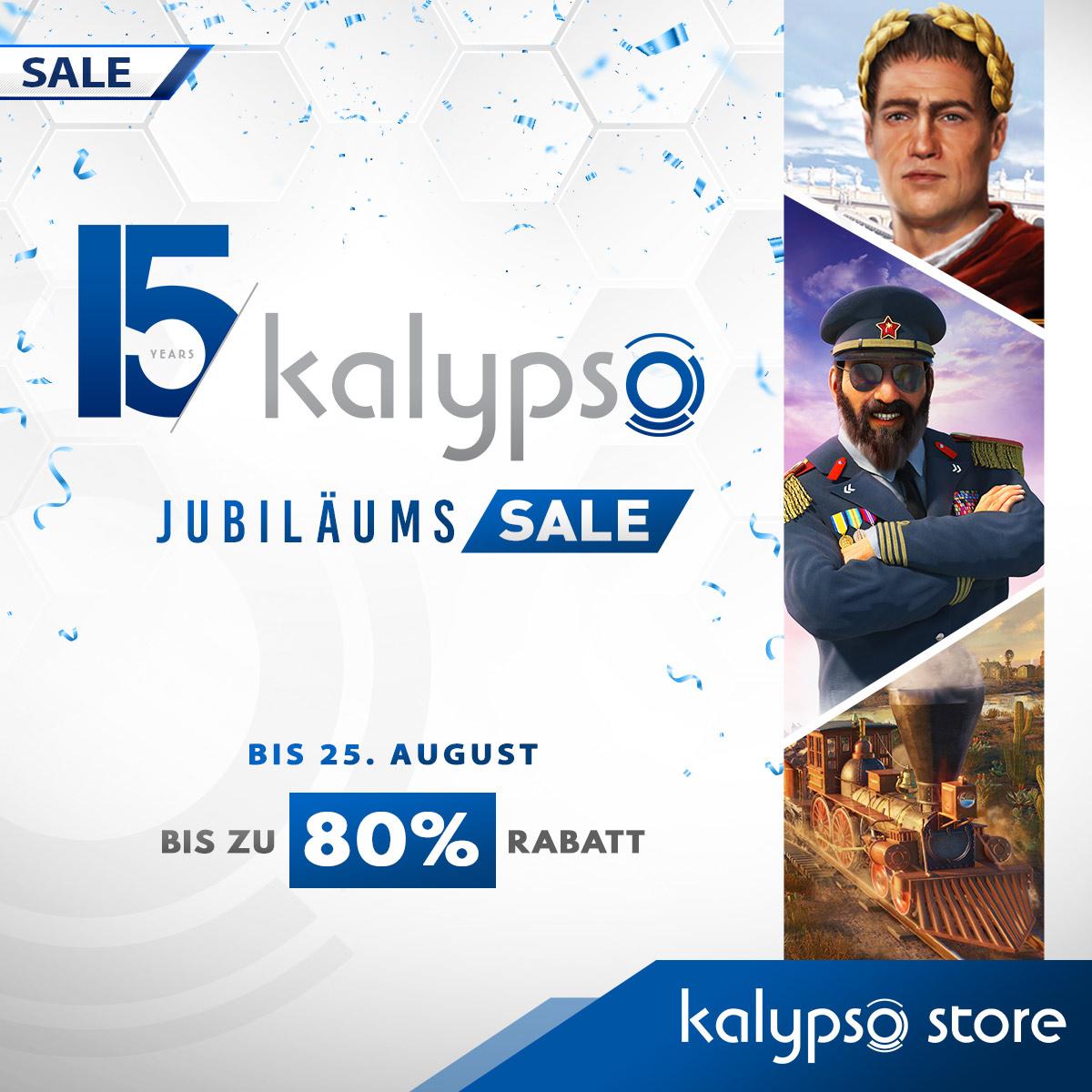Kalypso Anniversary - Key Art zum Sale
