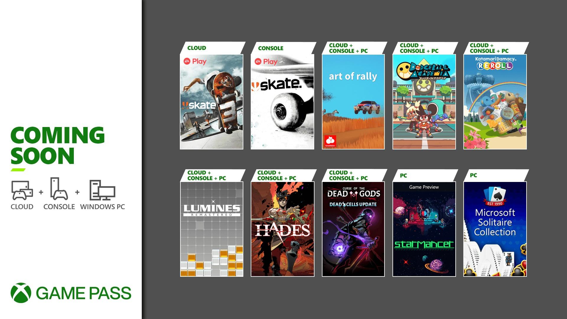 Xbox Game Pass August 2021 - Beitragsbild