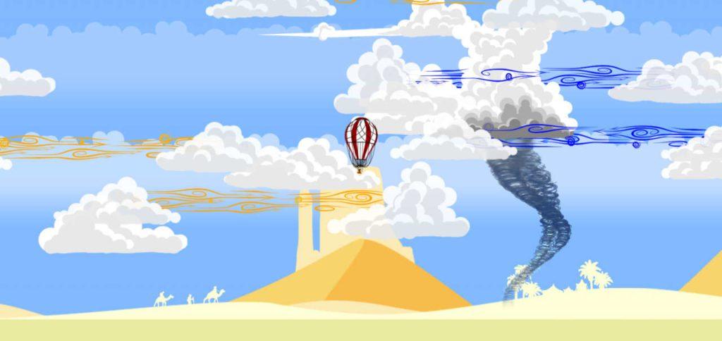 Balloon Traveller - Screenshot