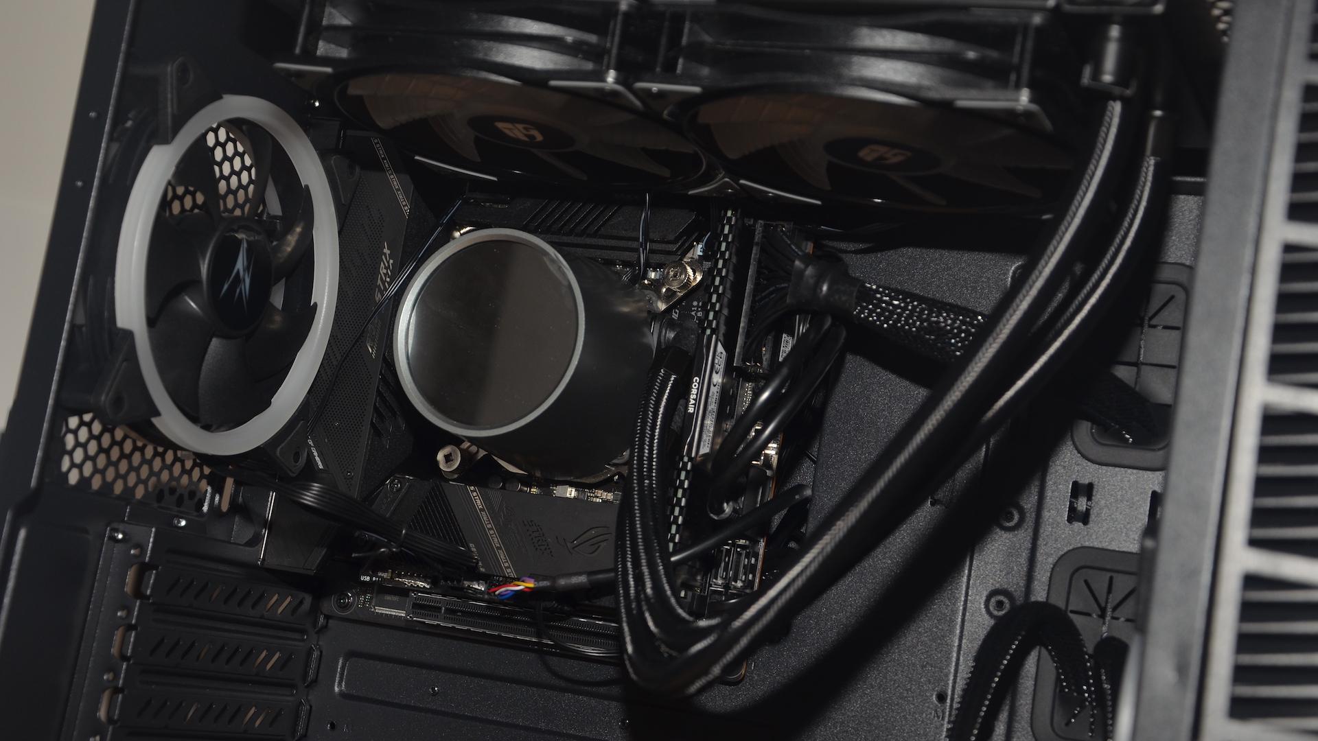 ASUS ROG Strix Z590-I Gaming WiFi im Test - kuschlig