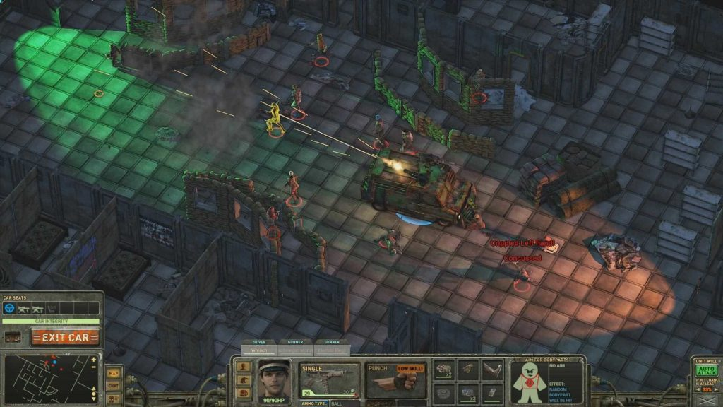 Dustwind: captura de pantalla