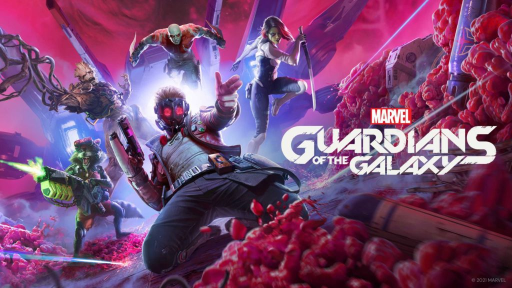 Marvel's Guardians of the Galaxy - Keyart
