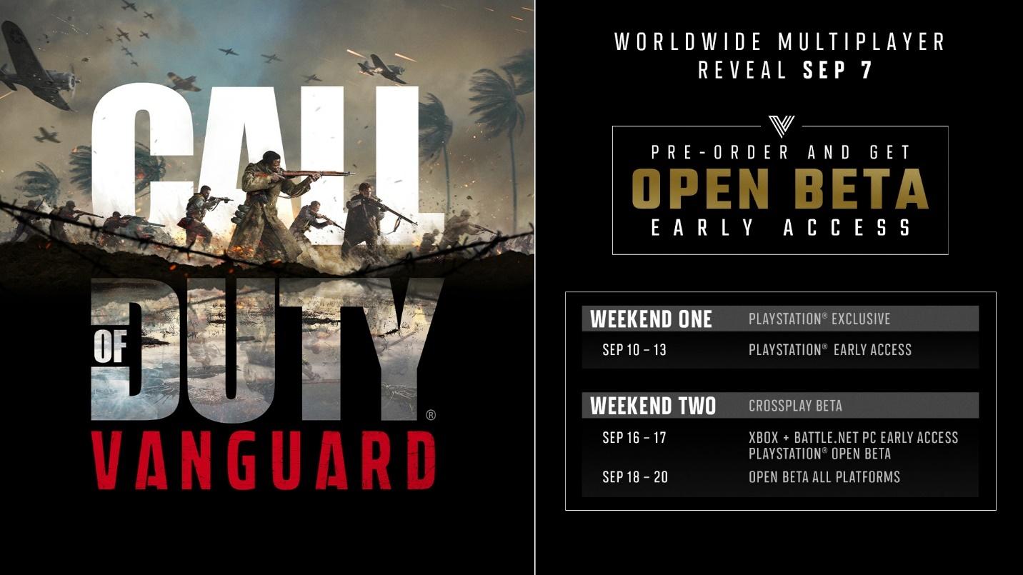 Call of Duty Vanguard Betaphase - Key Art