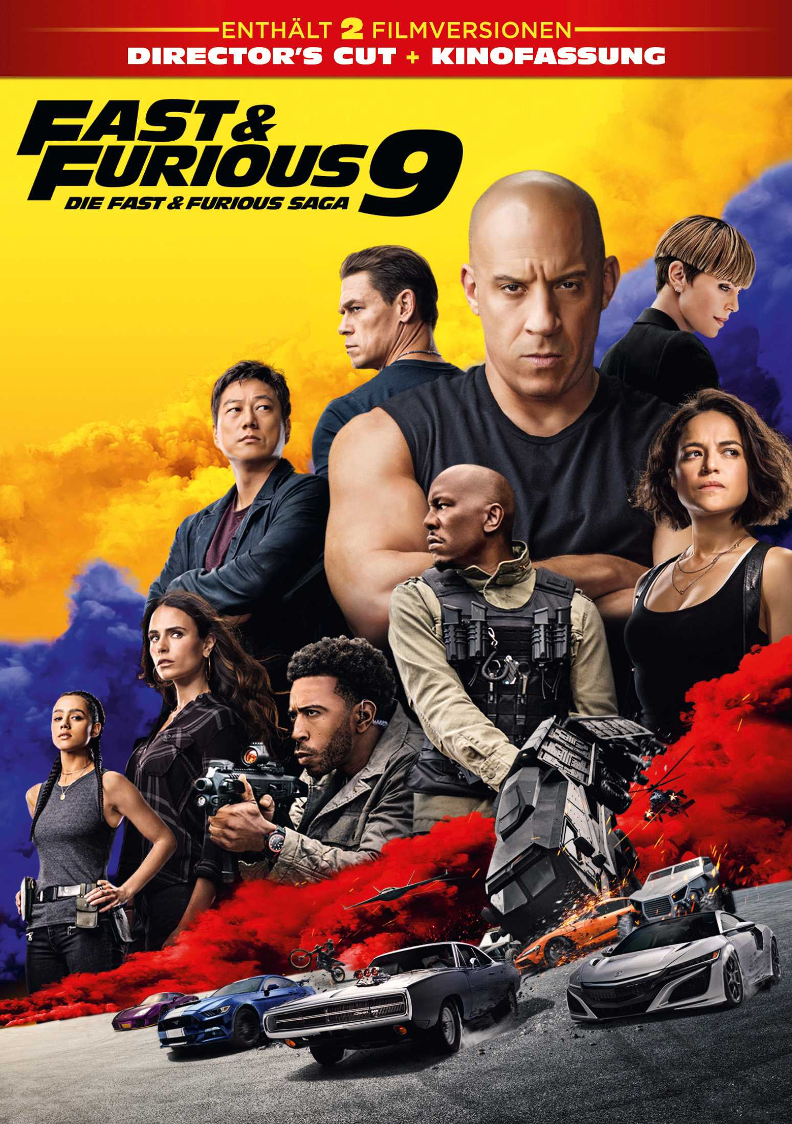 Fast & Furious 9 - Digital Cover