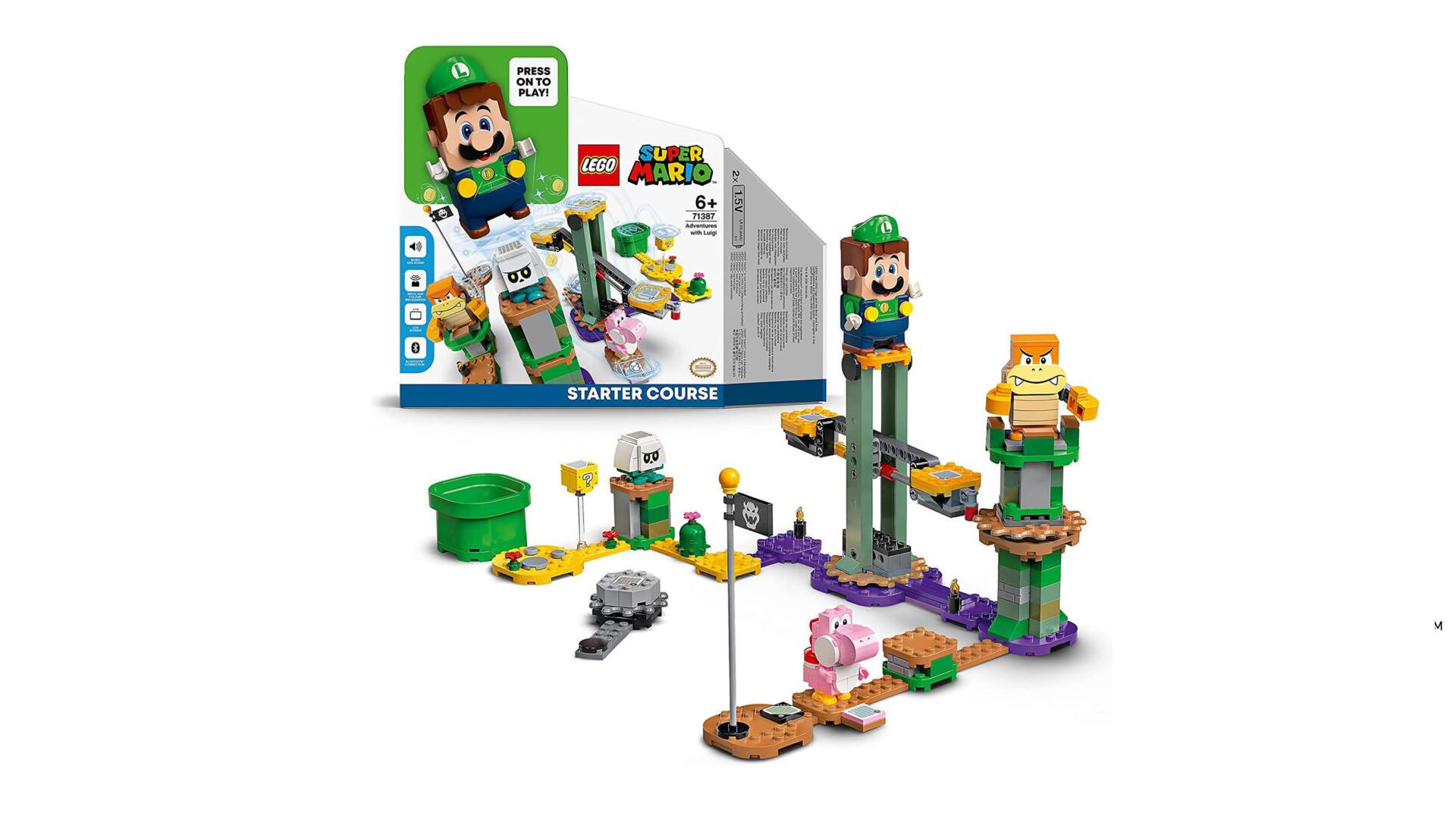 Lego Super Mario - Abenteuer mit Luigi Packung