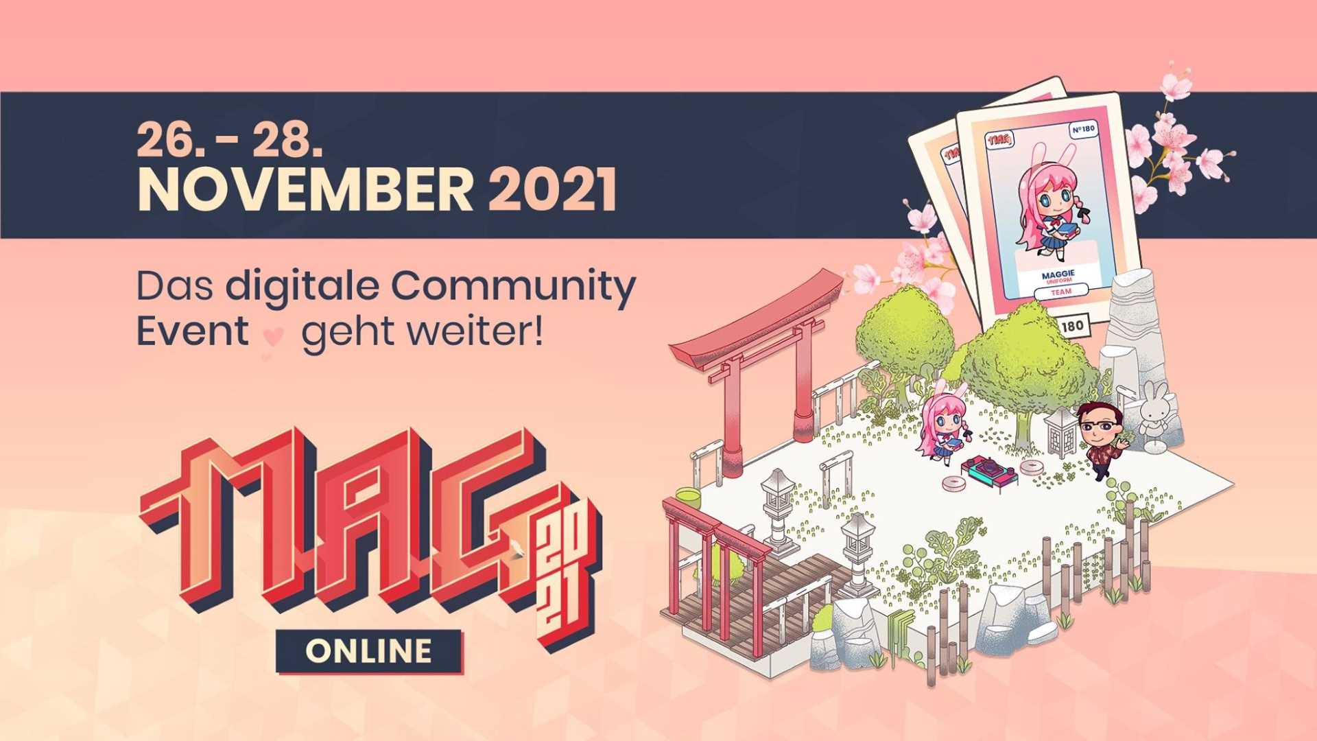MAG Online 2021 - Key Art