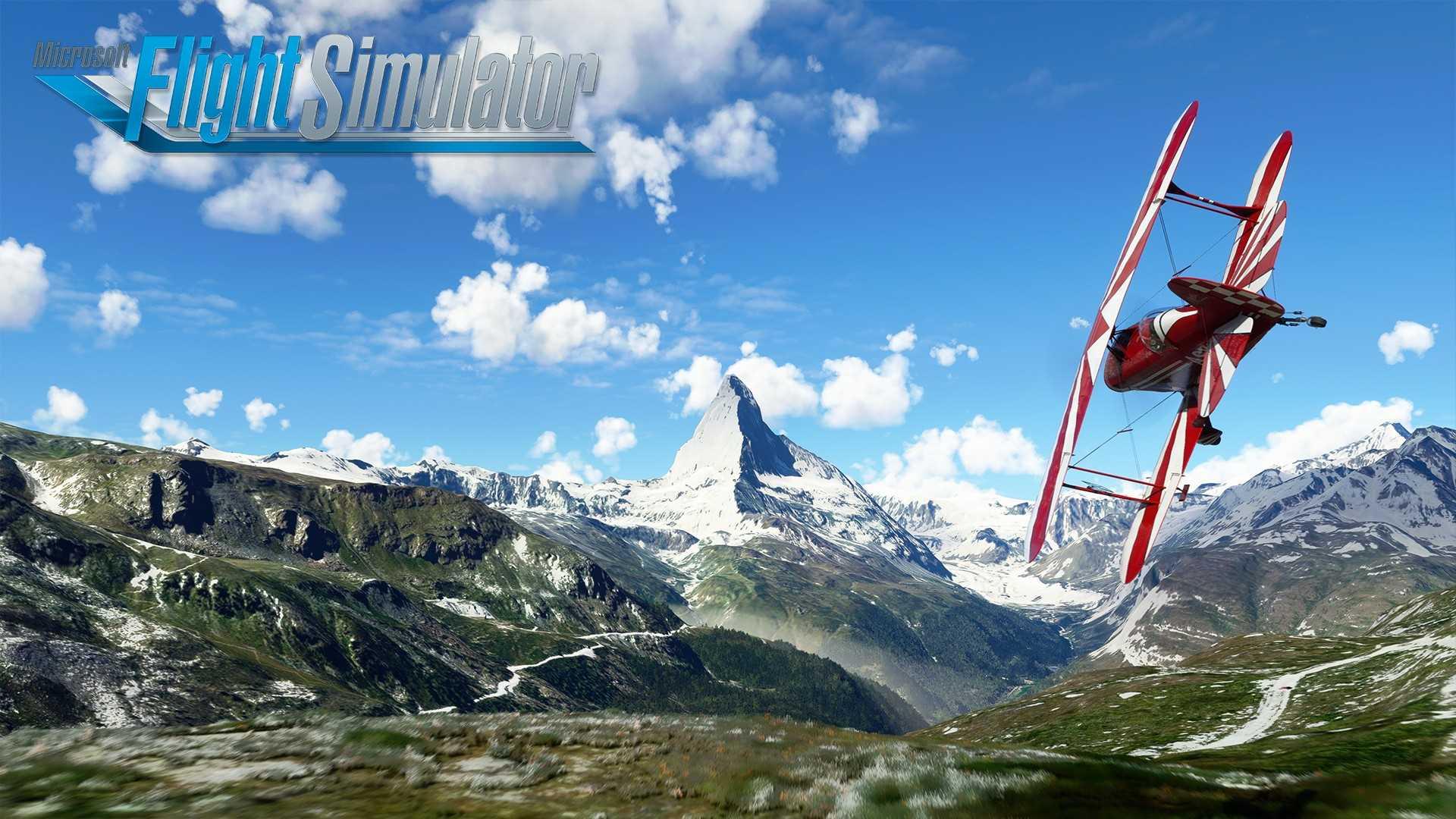 Microsoft Flight Simulator World Update VI - Key Art