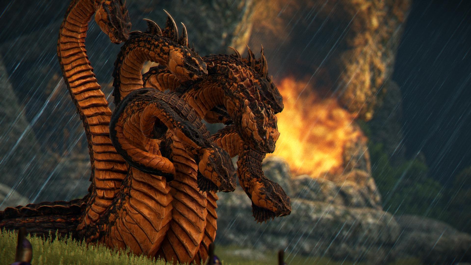 A Total War Saga: Troy Mythos Hydra 2
