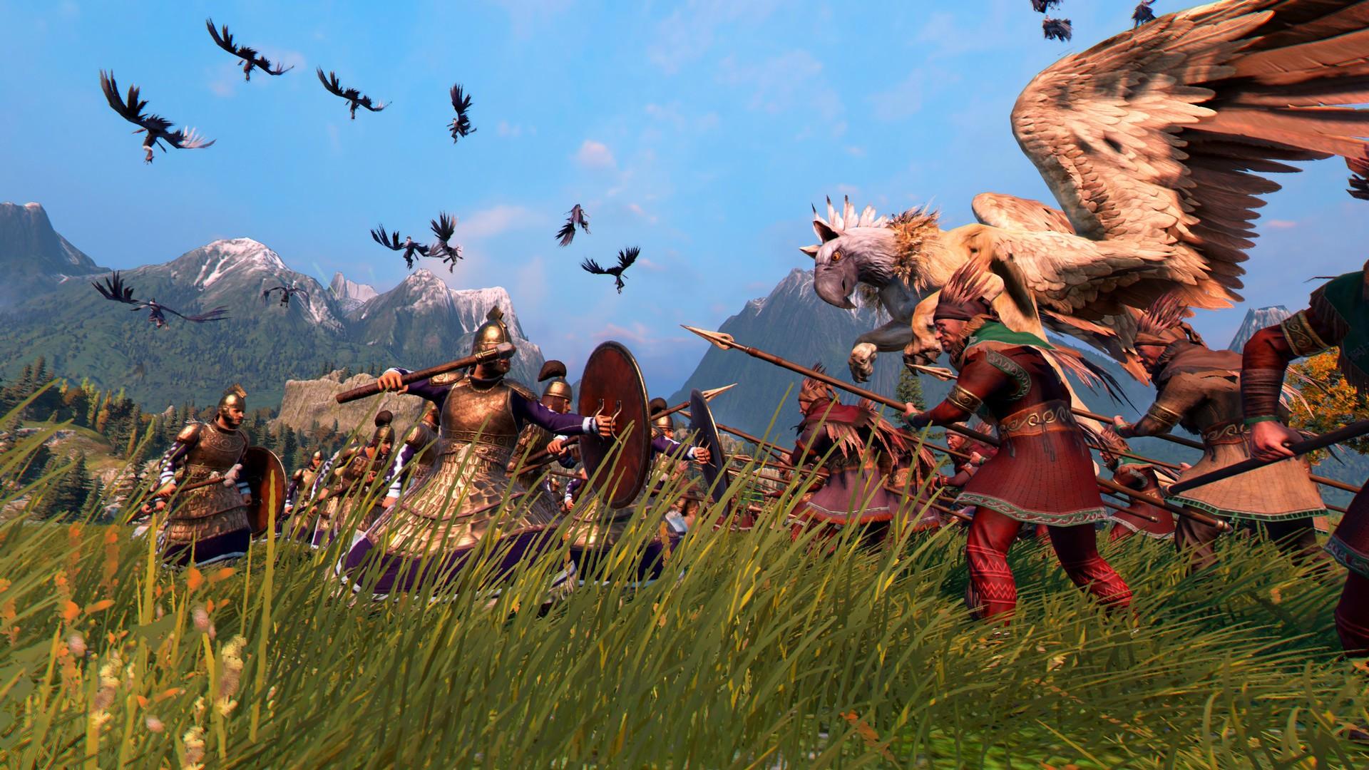 A Total War Saga: Troy Mythos Großer Greif