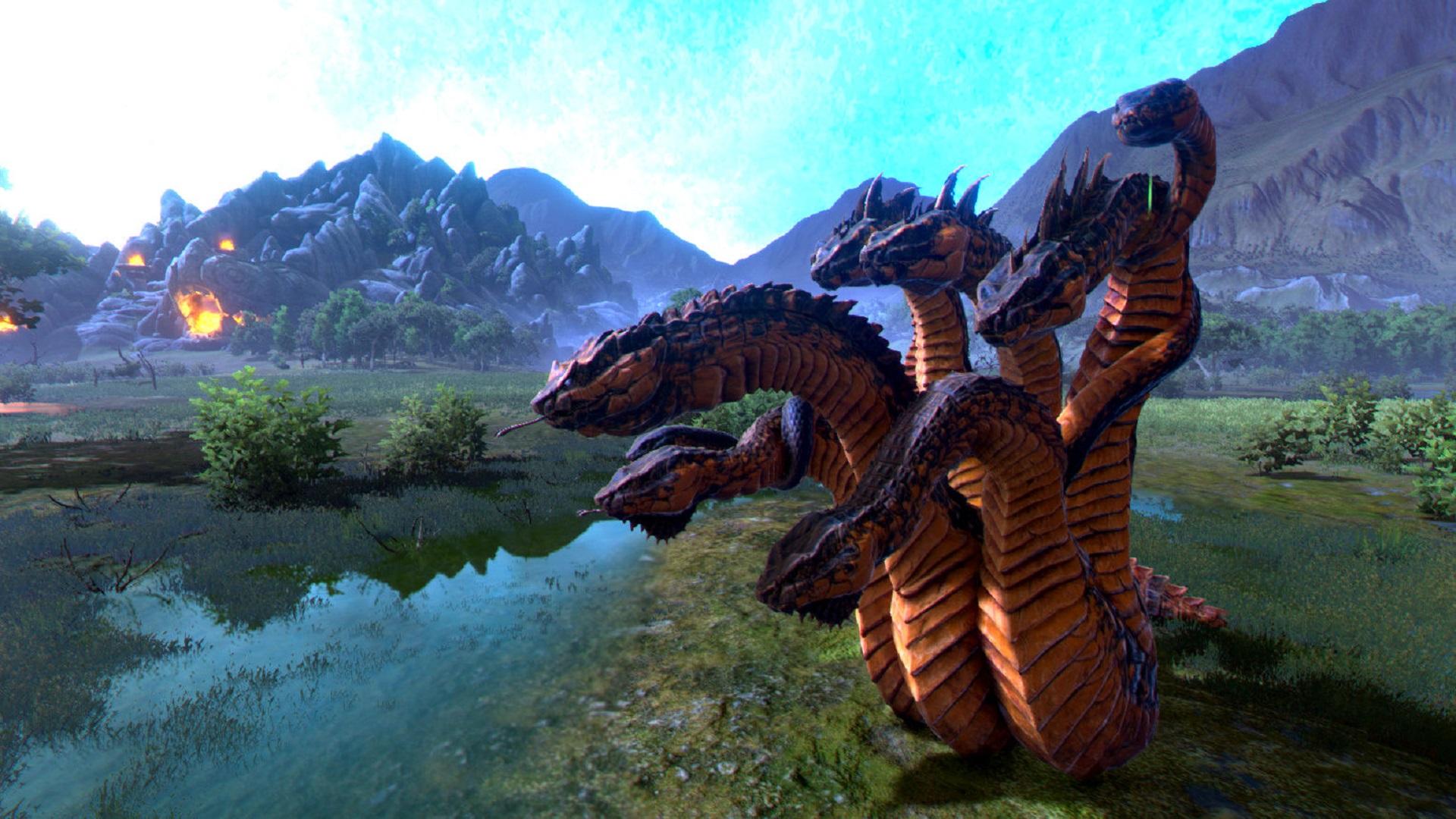 A Total War Saga: Troy Mythos Hydra