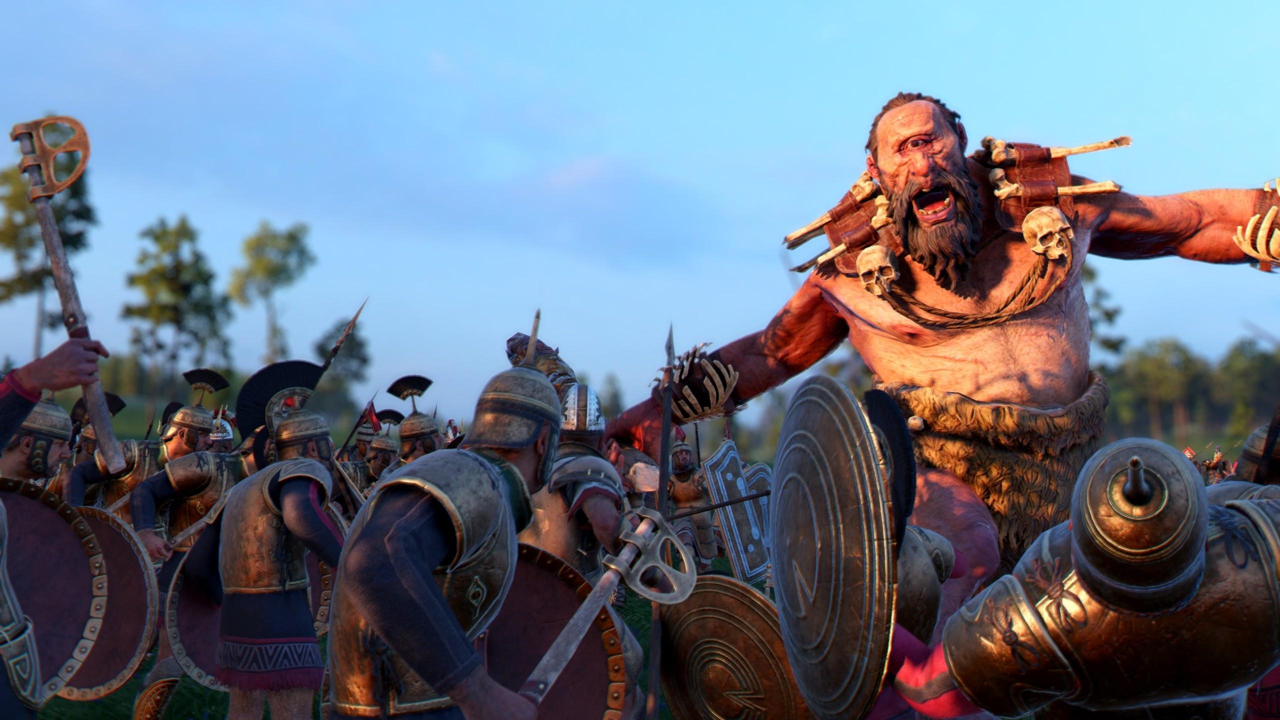 A Total War Saga: Troy Mythos Zyklop